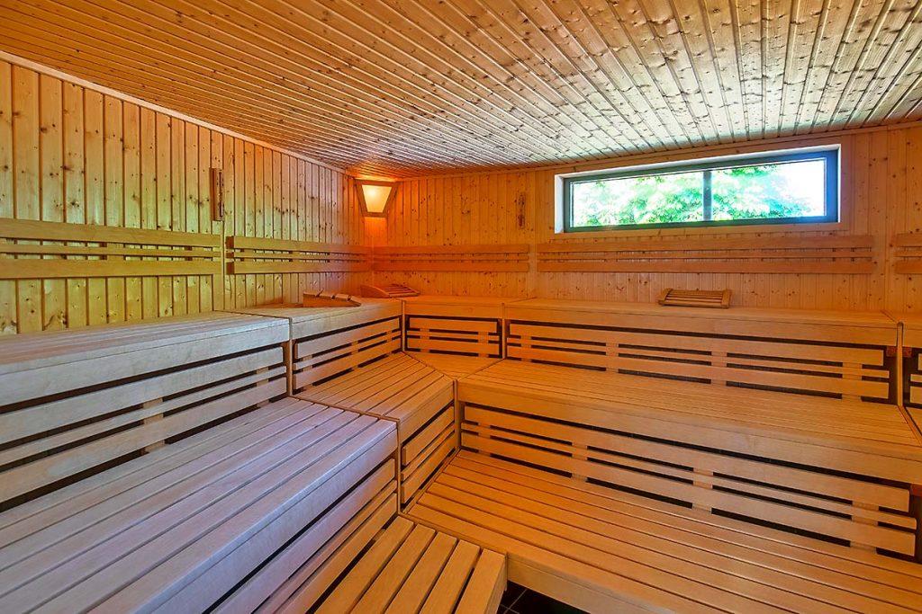 Finnische Sauna in der Cliner Quelle
